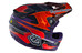 Troy Lee Designs D3 MIPS Helmet Carbon Render Purple